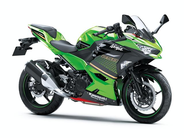 画像10: カワサキが「Ninja250」の2021年モデルを発売! カラーはKRTエディションを含め2色の設定