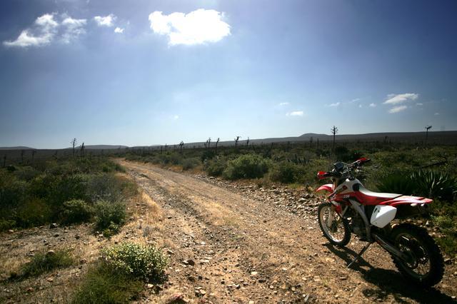 画像: Baja California & Honda CRF450X photo by Katsuhisa Mikami