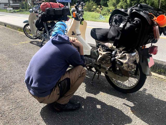 画像: 久々のキャンプツーリングでハイブリッドランプ大活躍の巻〈若林浩志のスーパー・カブカブ・ダイアリーズ Vol.40〉 - webオートバイ