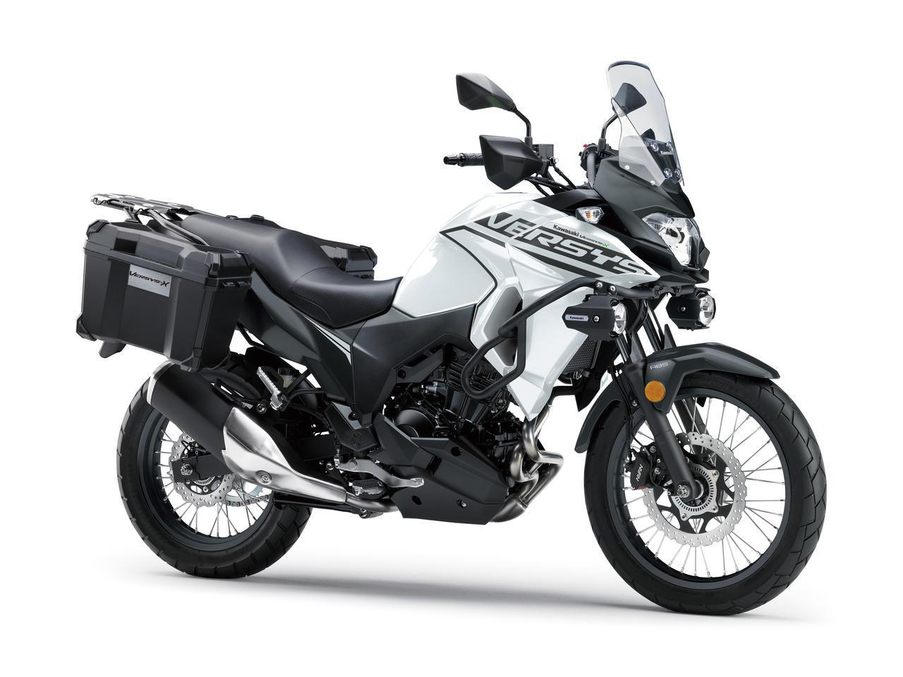 画像: カワサキが「VERSYS-X 250 TOURER」の2020年モデル情報 - webオートバイ