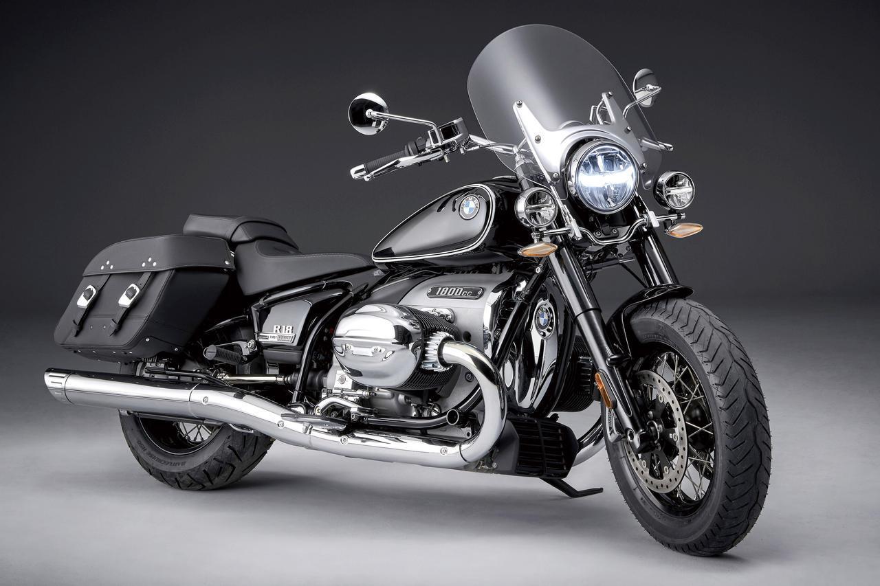 画像: BMW R 18 CLASSIC 総排気量:1802cc エンジン形式:空油冷4ストOHC4バルブ水平対向2気筒 価格・発売時期未定