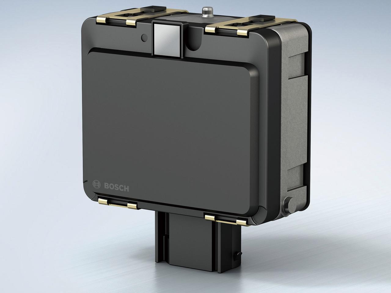 画像: レーサーセンサーユニットはBOSCH製。先に紹介したドゥカティのムルティストラーダV4と同タイプと思われる。