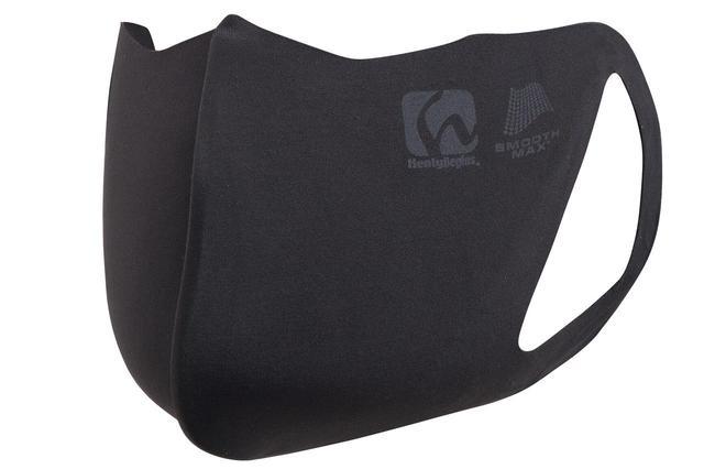 画像: ヘンリービギンズ 「HBV-030 シームレスフレームマスク」 税別価格:900円 カラー:ブラック、グレーブラウン、ブルー