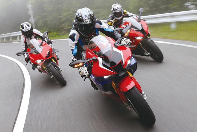 画像: リッターSSバイクのスポーツ性能を比較! ホンダ CBR1000RR-R・BMW S1000RR・ドゥカティ パニガーレV4S - webオートバイ