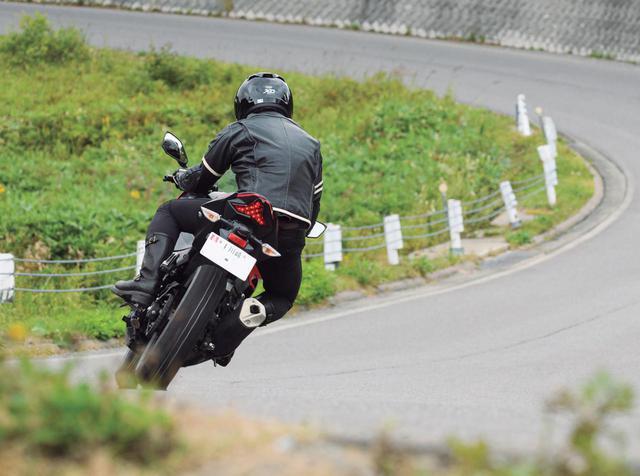 画像2: 公道インプレ/装着車両:カワサキ「ニンジャ250」(山口銀次郎)