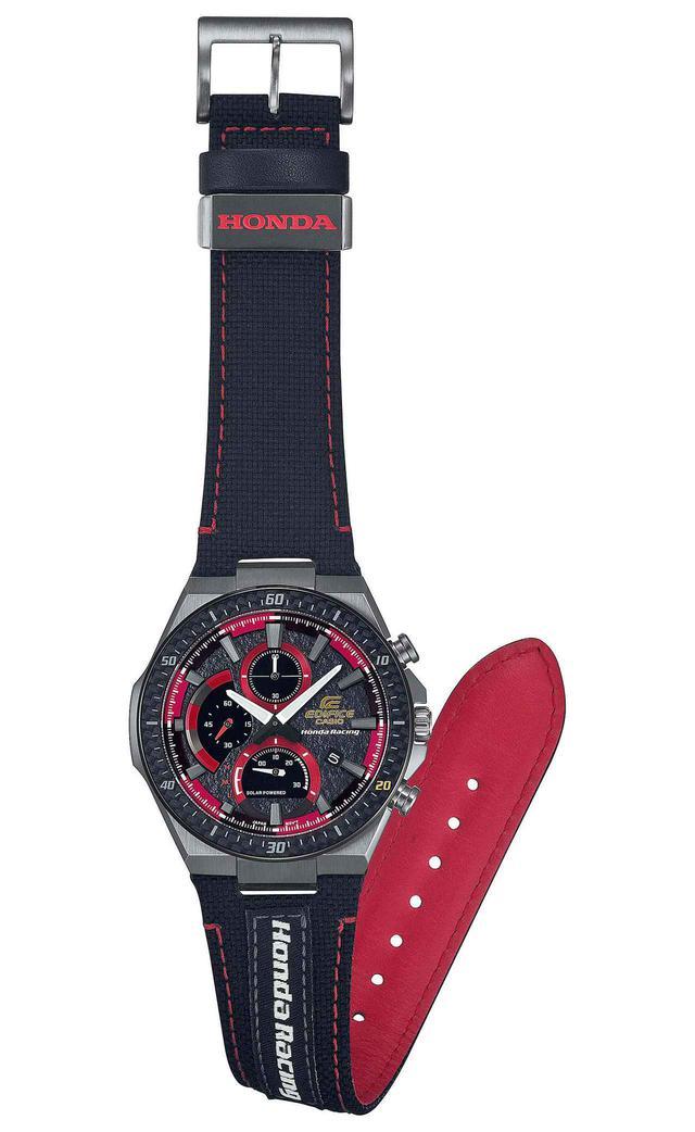 画像1: エディフィスとホンダ・レーシングの最新コラボ腕時計が発売中! モータースポーツの世界観を表現したシリーズ第4弾