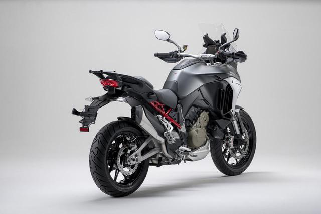画像5: 【2021速報】ドゥカティが「ムルティストラーダV4」シリーズをお披露目! V型4気筒エンジンを搭載した新型ムルティをチェック
