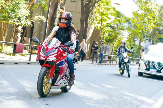 画像: オートバイ女子部とbikoの勝負がスタート!