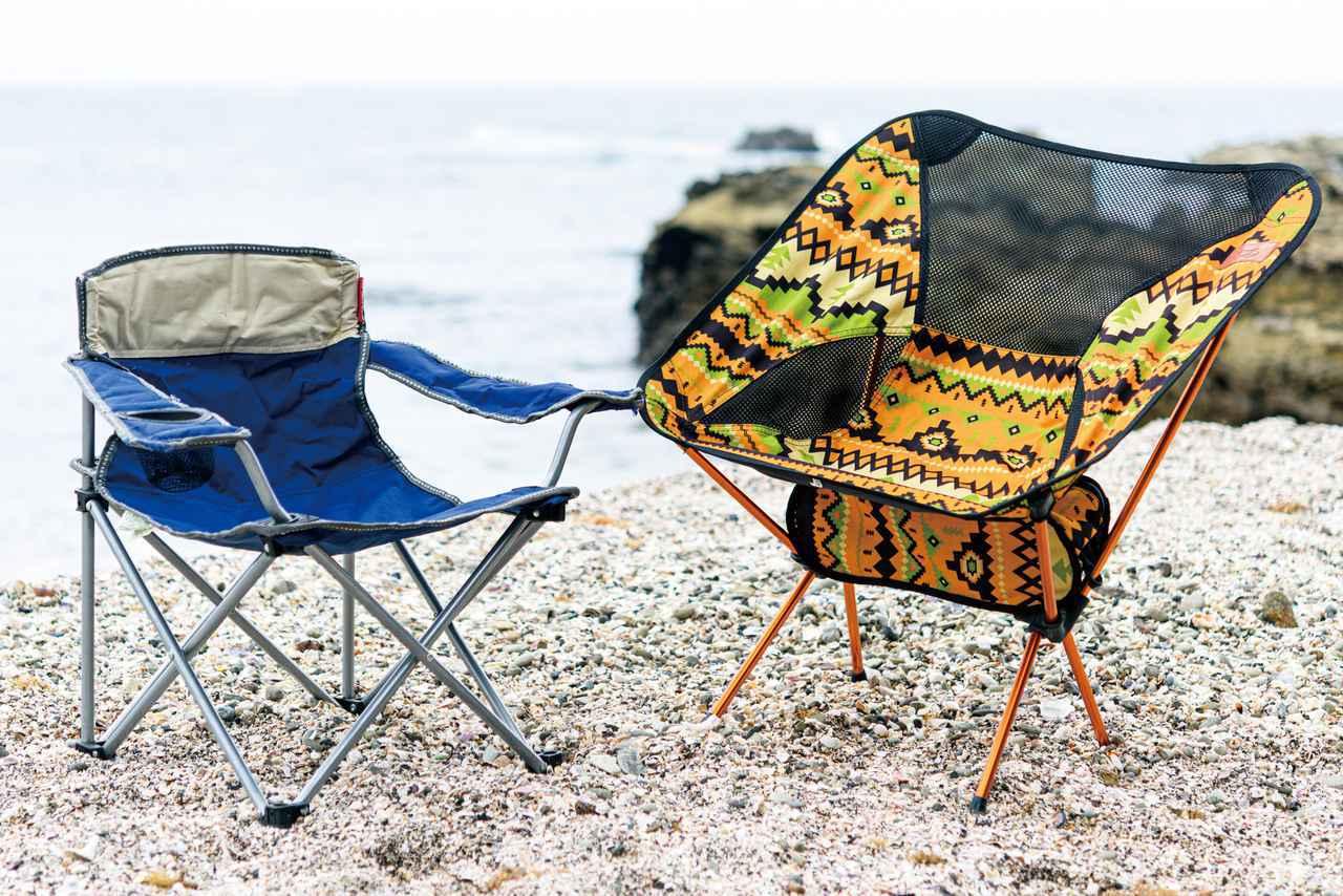 画像: 椅子はなくてもキャンプはできます。西野も学生時代は荷物が増えるのが嫌で、持っていきませんでした。でものんびりくつろぎたいなら、必携とも言えるものでしょう。
