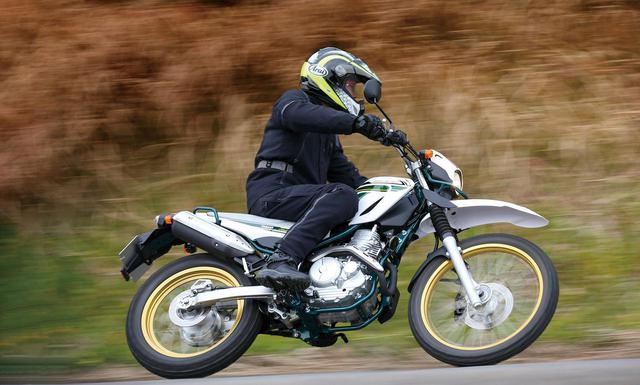 画像1: 〈試乗インプレ〉ヤマハ「セロー250 ファイナルエディション」/35年愛され続けた「2輪2足」の集大成 - webオートバイ