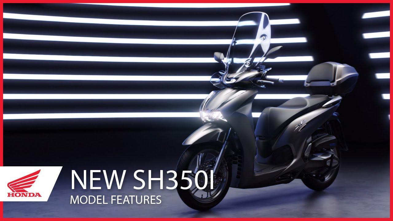 画像: The New 2021 SH350i Model Features youtu.be