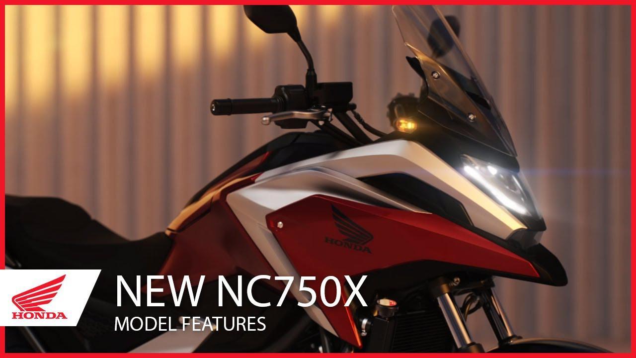 画像: The New 2021 NC750X Model Features www.youtube.com