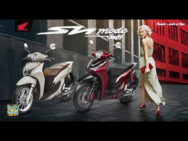 画像: 2021 new Honda SH Mode 125 eSP+ (VietNam) promo video www.youtube.com