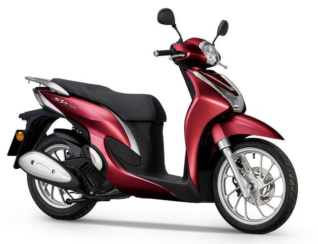 画像: ヨーロッパで発表されたHonda SH MODE 125(2021年モデル)