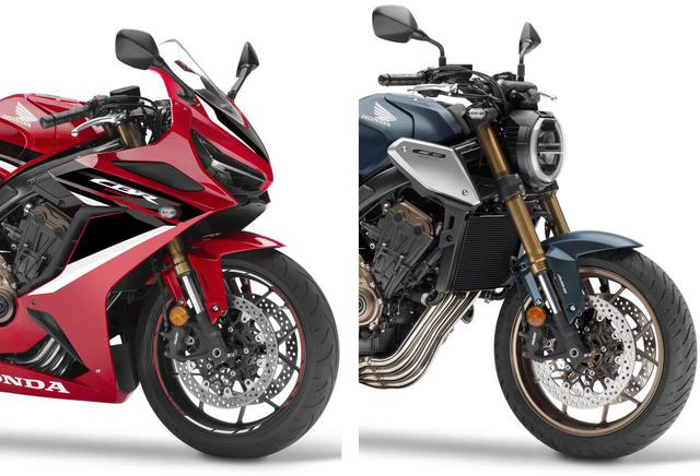 画像: 欧州でホンダ「CBR650R」「CB650R」の2021年モデルが発表! 新たな排ガス規制に対応し、新色も登場 - webオートバイ