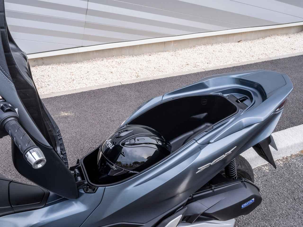 画像7: 新型PCX125は、スタイリング、フレーム、エンジンなどあらゆる部分が進化