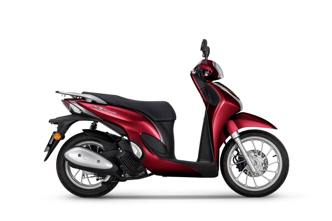 """画像1: 【2021速報】エレガントでスタイリッシュな""""ホンダの原付二種スクーター""""「SH MODE 125」の2021年モデルが欧州で発表!"""