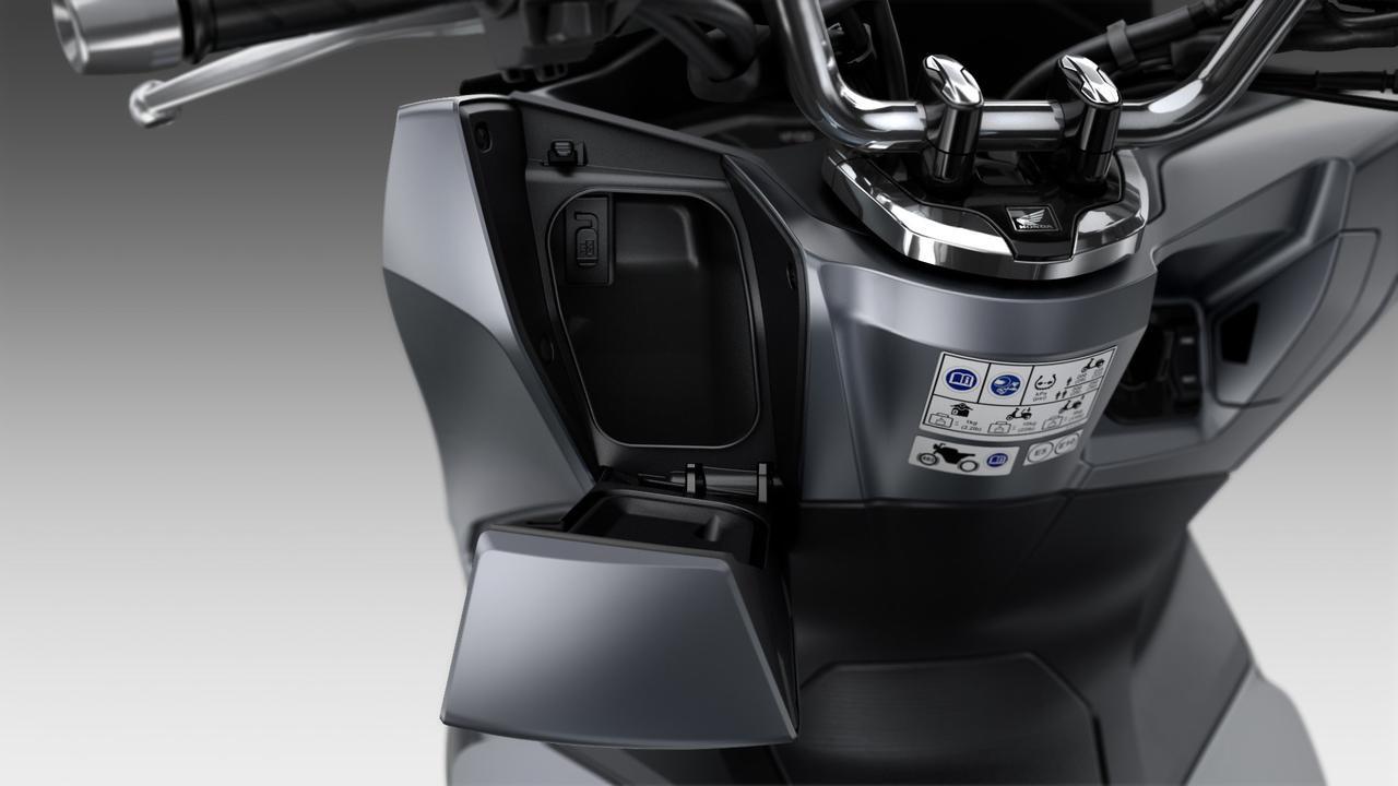 画像8: 新型PCX125は、スタイリング、フレーム、エンジンなどあらゆる部分が進化