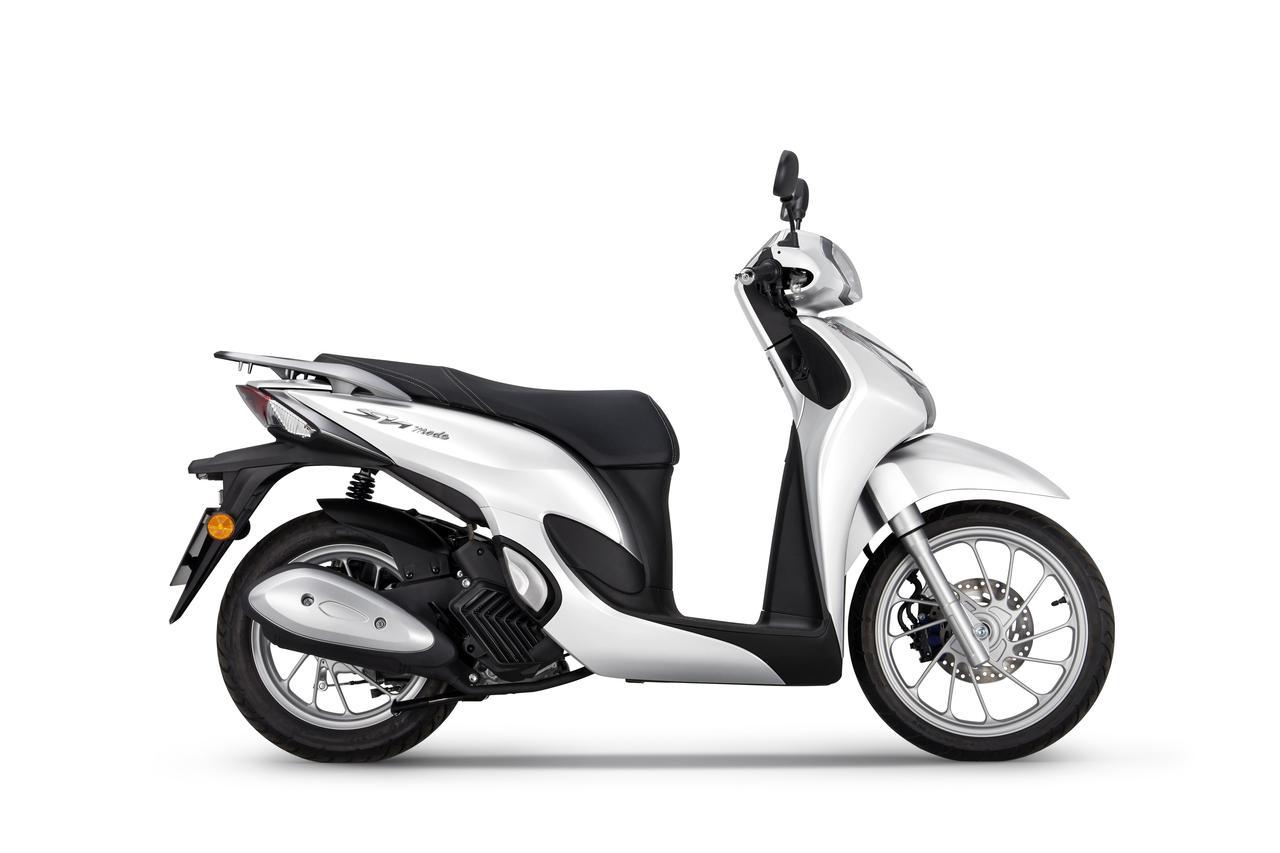 """画像3: 【2021速報】エレガントでスタイリッシュな""""ホンダの原付二種スクーター""""「SH MODE 125」の2021年モデルが欧州で発表!"""