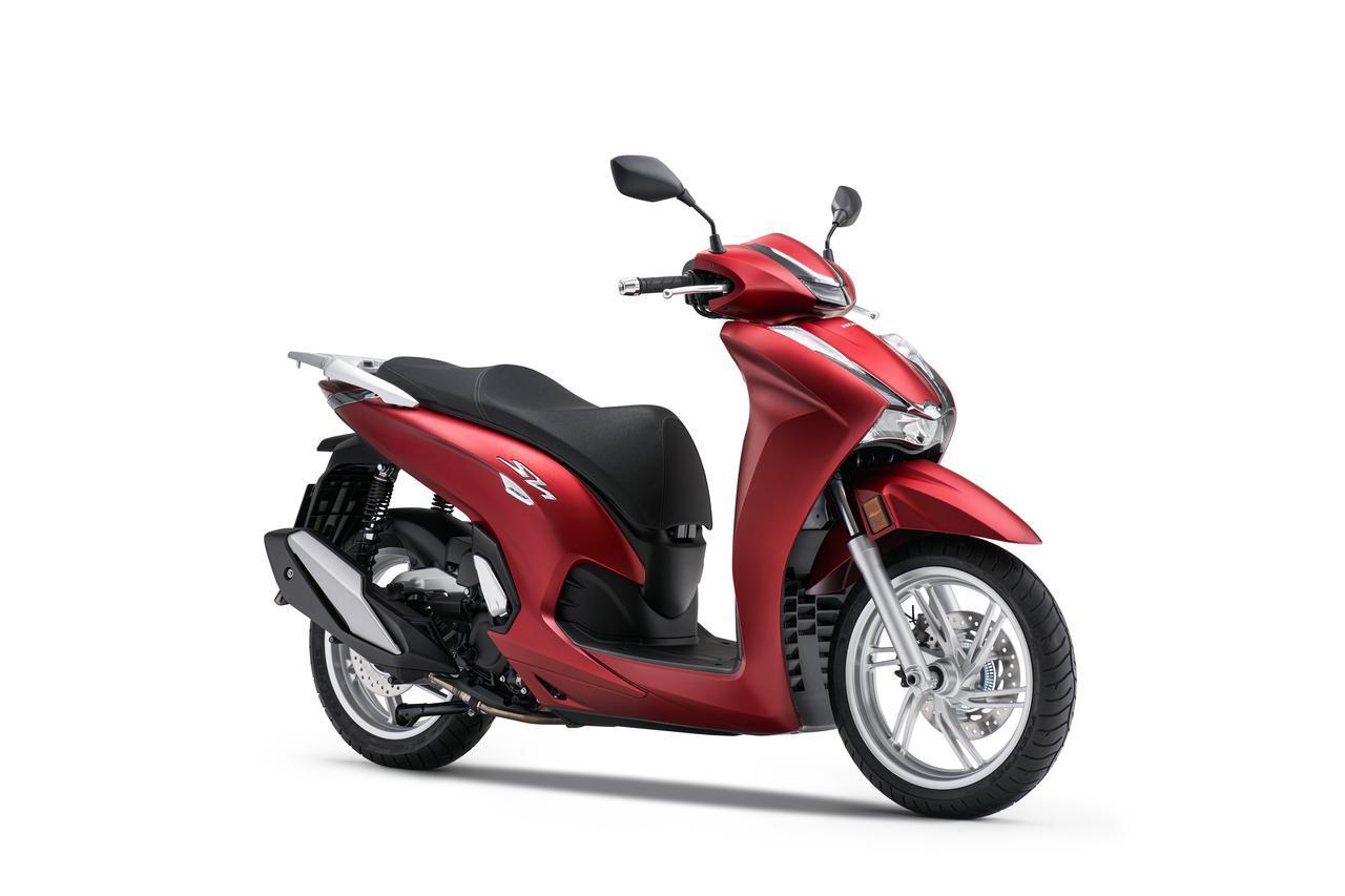 画像3: 【2021速報】ホンダが欧州で新型スクーター「SH350i」を発表! 50cc排気量アップ・シリーズ共通フェイスリフト・LCD多機能メーター採用などフルモデルチェンジ!