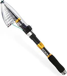画像: Amazonで価格を見る | 釣りサビキ サンライク(SANLIKE)携帯型 釣竿セット 2.1m