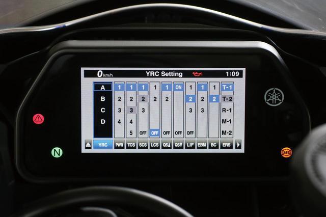 画像: ライディングモードは4種類。今回から電子制御デバイスにブレーキコントロール(BC)とエンジンブレーキマネージメント(EBM)が追加された。