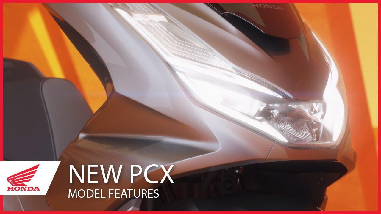 画像: The New 2021 PCX Model Features www.youtube.com