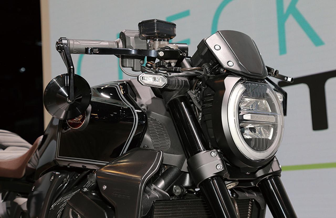 画像: ホンダ渾身のダークカスタム「CB1000R Customized Concept」 - webオートバイ