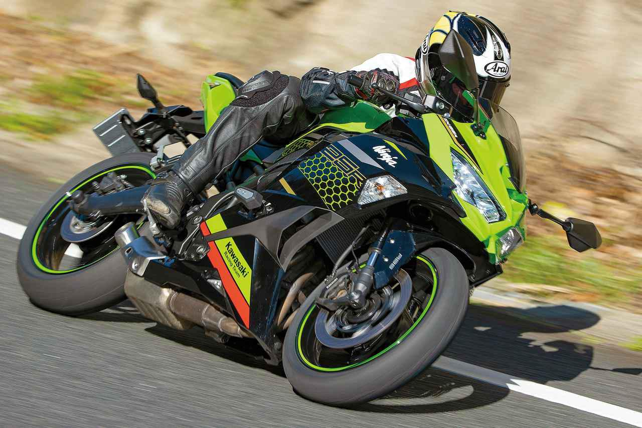 画像4: 「CBR250RR」と「Ninja ZX-25R」はどっちが速い? 最高速と峠での乗りやすさを比較!【2気筒 VS 4気筒 250ccスーパースポーツ対決】