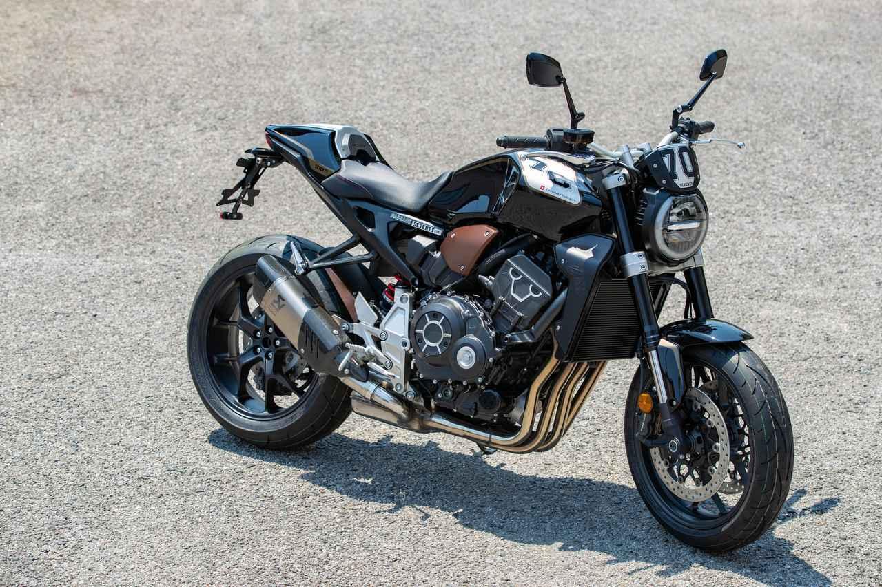 画像: 欧州以外ではこの1台のみ!激レア特別仕様のCB1000R「SEVENTY」を特撮!! - webオートバイ