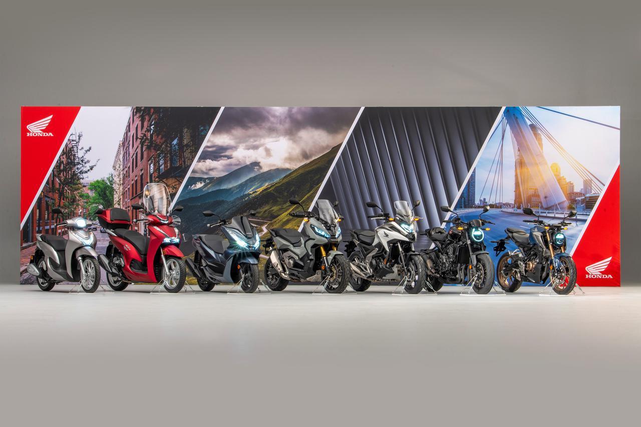 画像1: ホンダが新型車7台を一挙に正式発表! 日本でも2021年モデルとして販売されそうな注目のバイク一覧【2021速報・まとめ】 - webオートバイ