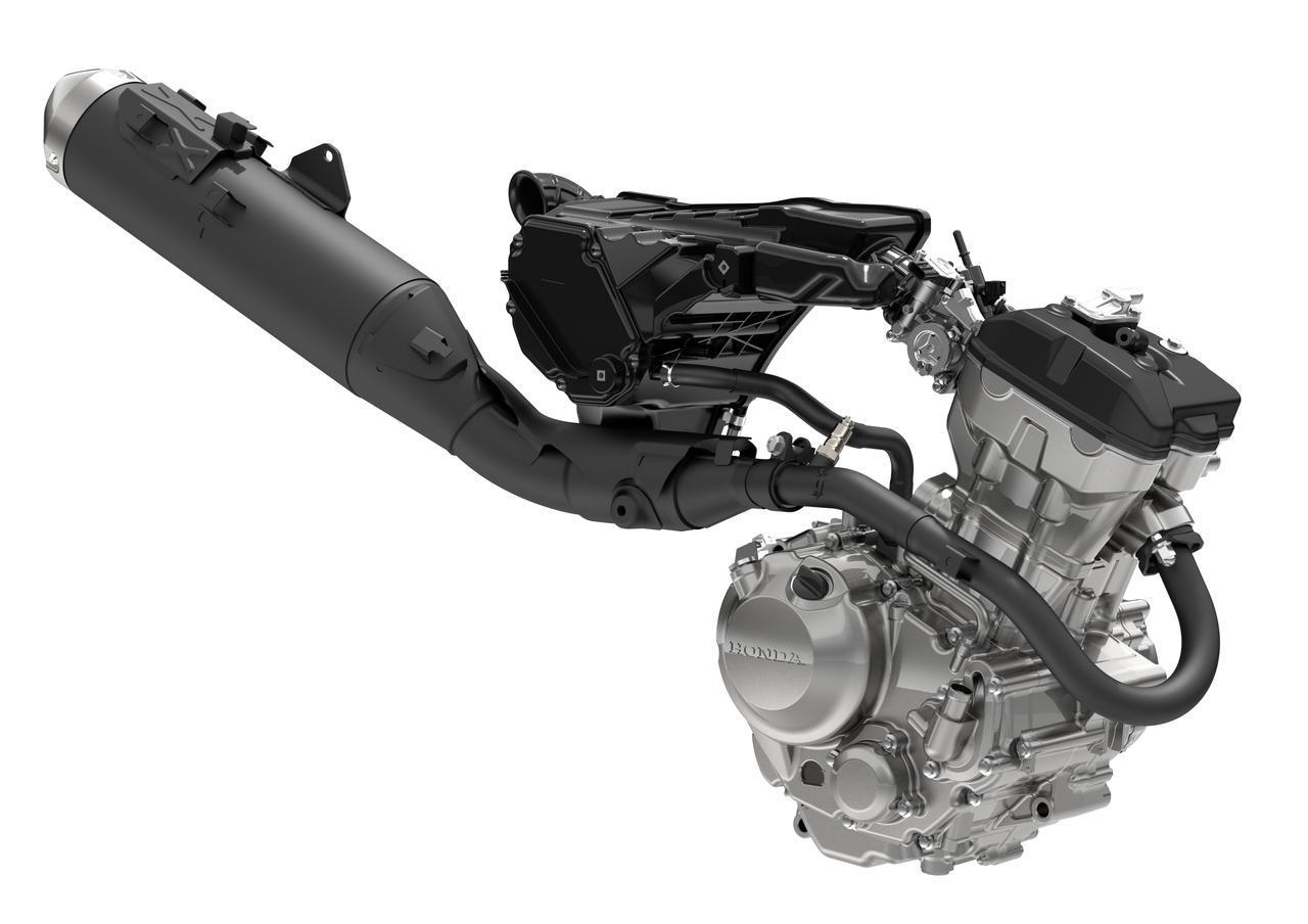 画像2: ABS車で4kgも軽量化!フレームは完全新設計、エンジンもリファイン