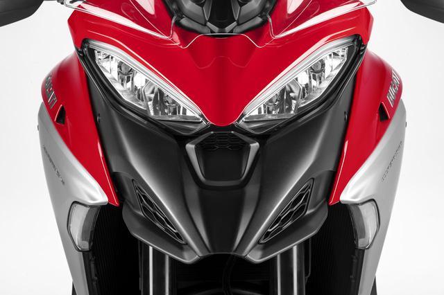 画像: 【2021速報】ドゥカティが「ムルティストラーダV4」シリーズをお披露目! V型4気筒エンジンを搭載した新型ムルティをチェック - webオートバイ