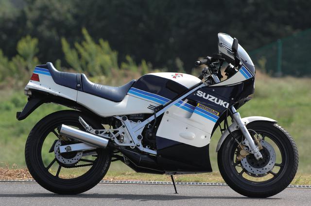 画像: SUZUKI RG250Γ 総排気量:247cc 発売年:1983年 当時の価格:46万円