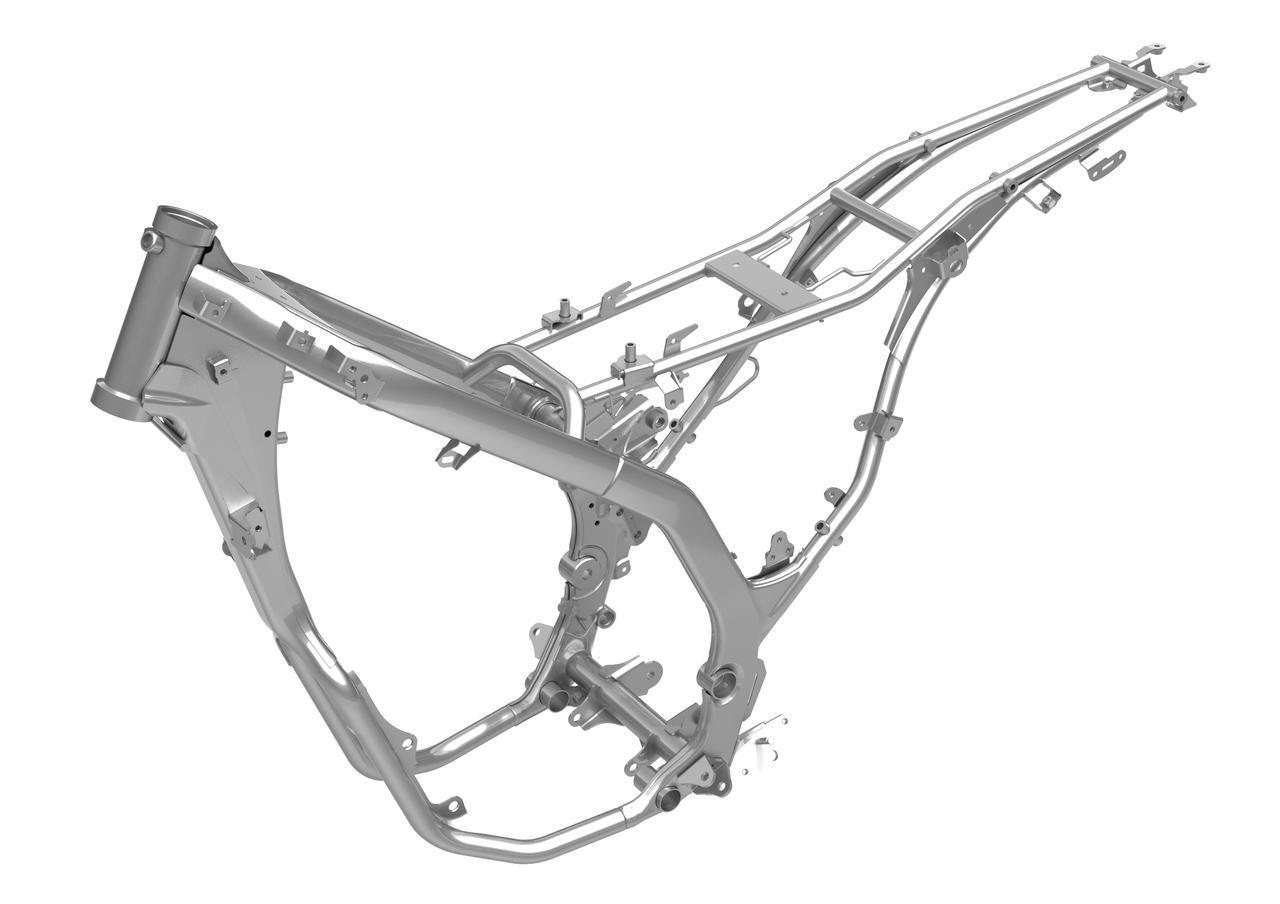 画像1: ABS車で4kgも軽量化!フレームは完全新設計、エンジンもリファイン