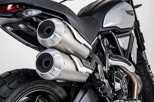 画像5: スクランブラー1100シリーズの新たなバリエーションモデル