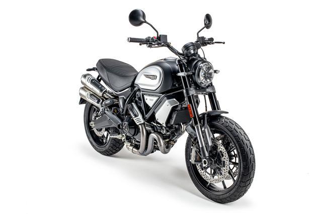 画像1: スクランブラー1100シリーズの新たなバリエーションモデル