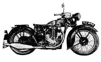 画像: 目黒製作所「メグロZ97」(1937年)