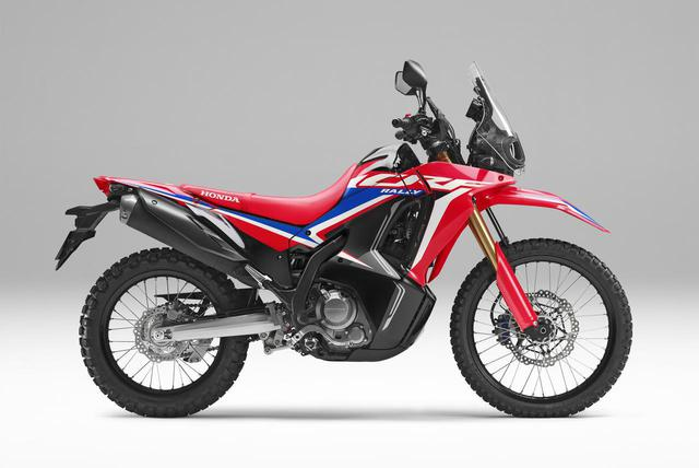 画像: Honda CRF250 RALLY メーカー希望小売価格:74万1400円(消費税10%込) シート高:830mm 最低地上高:220mm