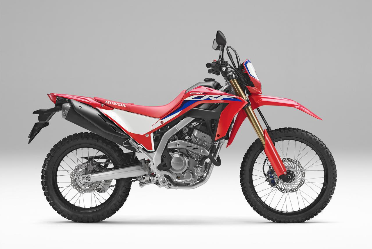 画像: Honda CRF250L メーカー希望小売価格:59万9500円(消費税10%込) シート高:830mm 最低地上高:245mm