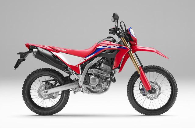 画像: Honda CRF250L<s> メーカー希望小売価格:59万9500円(消費税10%込) シート高:880mm 最低地上高:285mm