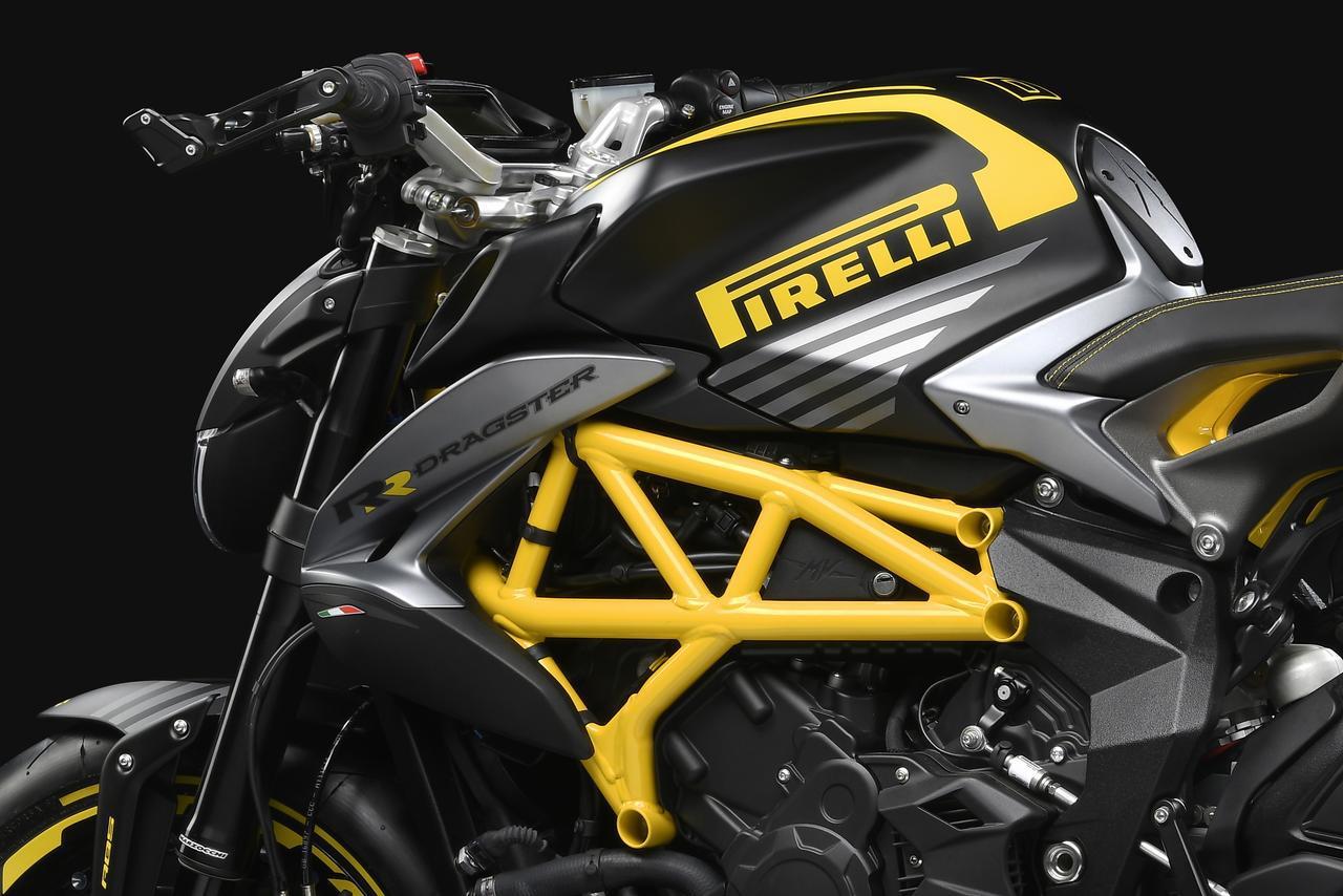 画像: MVアグスタとピレリがコラボ!世界限定200台の「DRAGSTER 800 RR PIRELLI」が日本でも発売 - webオートバイ