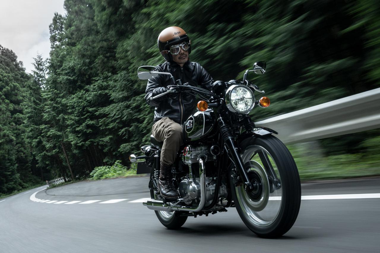 画像: Kawasaki MEGURO K3 総排気量:773cc エンジン形式:空冷4ストSOHC4バルブ並列2気筒 発売日:2021年2月1日 メーカー希望小売価格:税込127万6000円