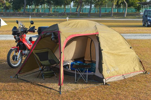 画像1: 最後はキャンプ用品をいくつか紹介。