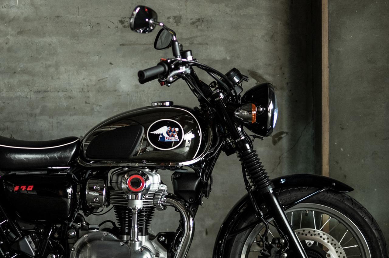 画像1: 【2021速報】カワサキが「メグロ」ブランドの新型車を正式発表! 名称は「MEGURO K3」 - webオートバイ