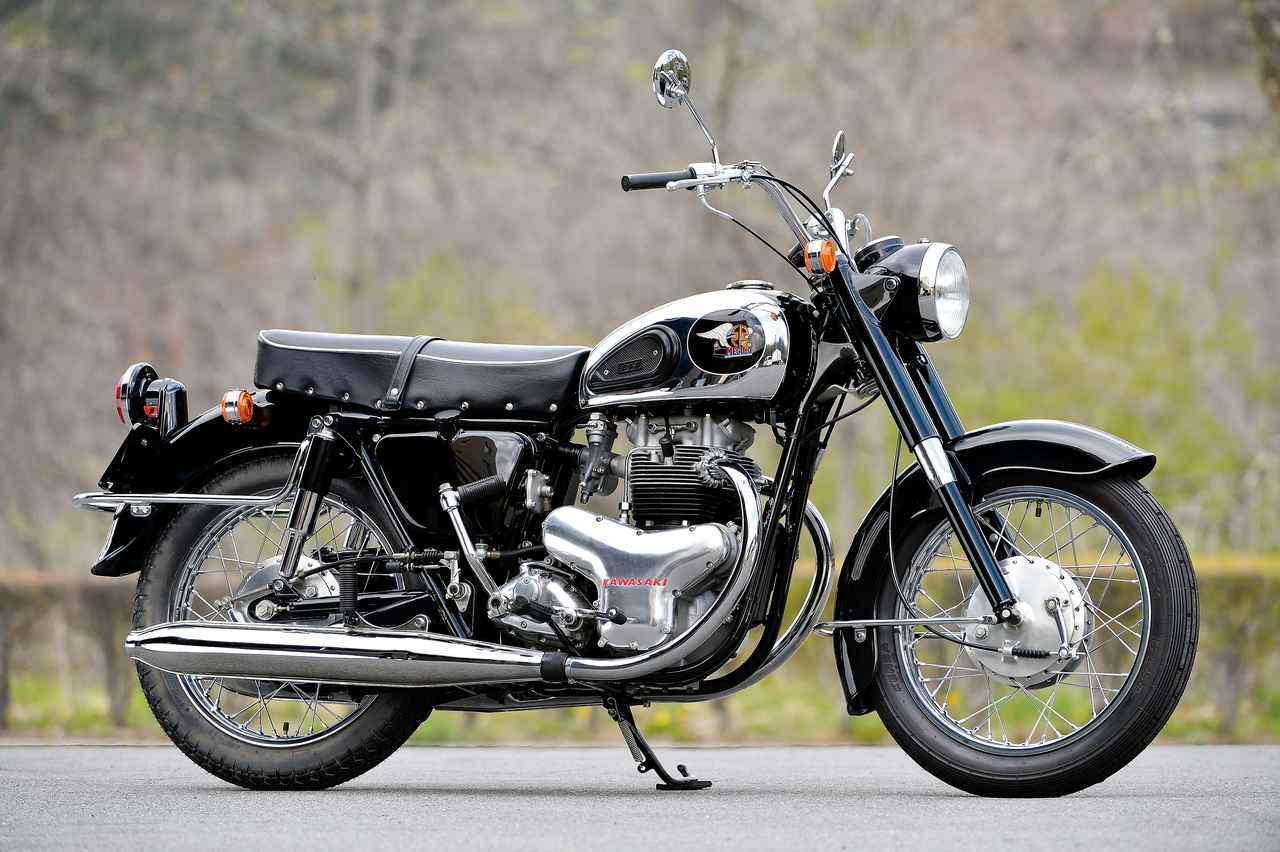 画像: カワサキ500メグロK2(1965年)