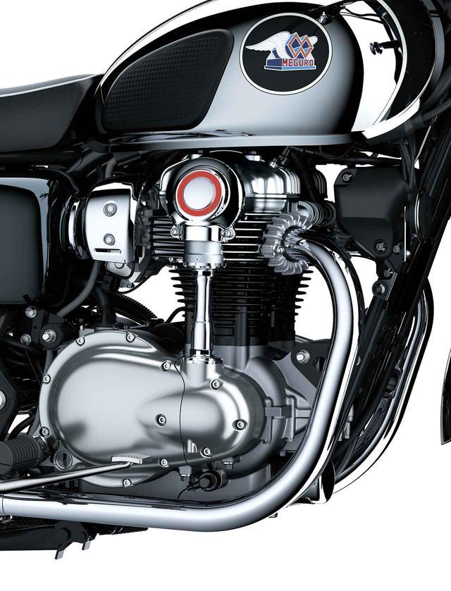 画像: 【写真12枚】美しさが際立つカワサキ「メグロ K3」の各部ディテール - webオートバイ