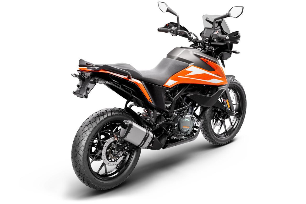 画像5: 【2021速報】KTM「250アドベンチャー」の日本での発売が決定! 扱いやすくてロングツーリングも楽しめる新たな250ccバイク