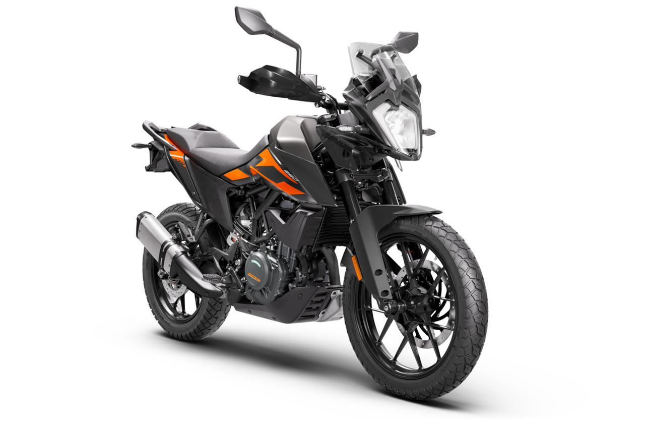 画像: KTM 250 ADVENTURE 総排気量:248.8cc エンジン形式:水冷4ストDOHC4バルブ単気筒 シート高:855mm メーカー希望小売価格:67万9000円(消費税10%込) 発売予定時期:2020年12月