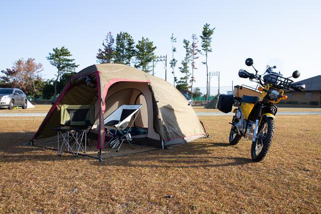 画像2: 最後はキャンプ用品をいくつか紹介。